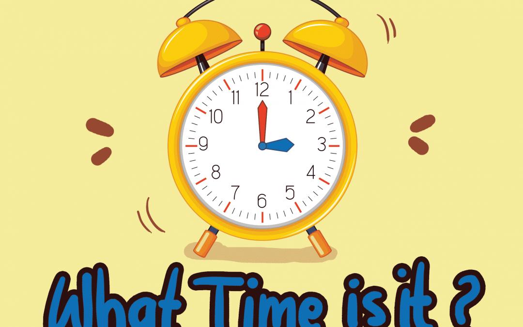 Belajar Membaca Jam Waktu